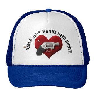 De meisjes willen enkel het Pet van Pistolen hebbe