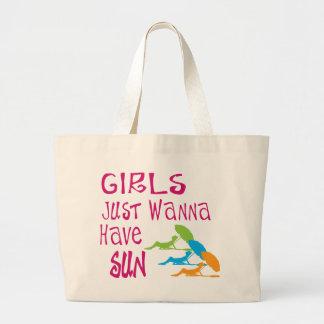 De meisjes willen enkel Zon hebben Grote Draagtas