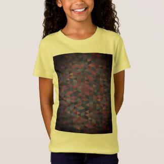 De meisjest-shirt van ontwerpers met t shirt