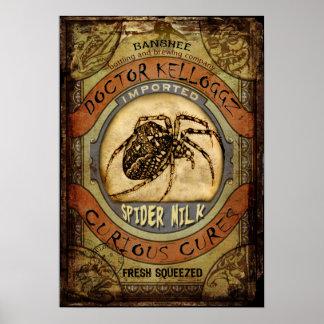 De Melk van de spin Poster