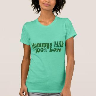 De Melk van Mommys is LIEFDE T Shirt