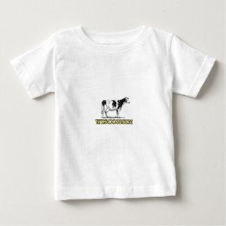 De melkkoe van Wisconsin Baby T Shirts