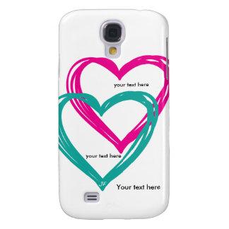 """""""de Melkweg 2 van hart"""" Samsung S4, nauwelijks Galaxy S4 Hoesje"""