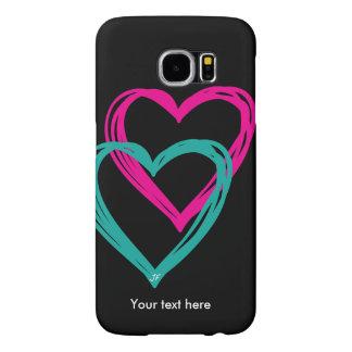 """""""de Melkweg 2 van hart"""" Samsung S6, nauwelijks Samsung Galaxy S6 Hoesje"""