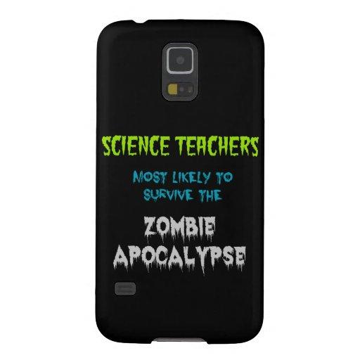 De Melkweg S5 ScienceTeacherApocalypse van Samsung Galaxy S5 Beschermhoezen