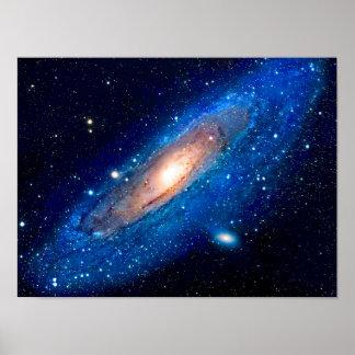 De Melkweg van Andromeda Poster