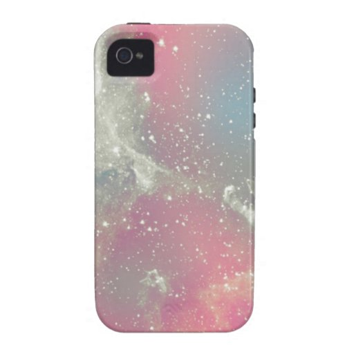 De Melkweg van de Pastelkleur van de Nevel van Sta iPhone 4 Case