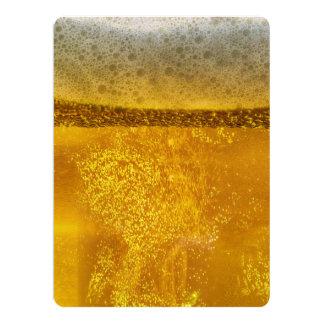 De Melkweg van het bier een Hemel Dovend Schuim 16,5x22,2 Uitnodiging Kaart