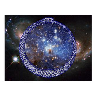 De Melkweg van Ouroboros - Briefkaart