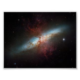 De Melkweg van Starburst Poster