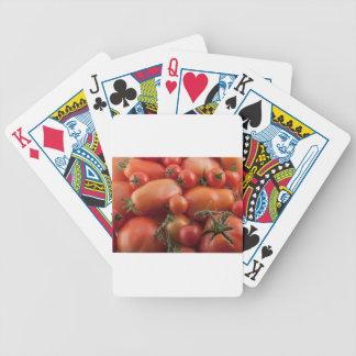 De Mengeling van de tomaat Bicycle Speelkaarten