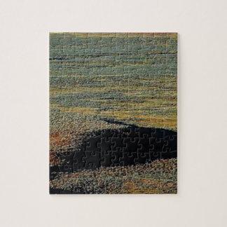 de mengsels van de woestijnkleur legpuzzel