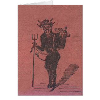 De Mensen van de Ontvoering van Krampus Briefkaarten 0
