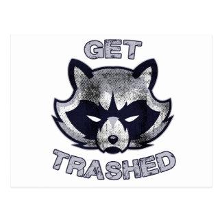 De Mensen van de Partij van de Panda van het afval Briefkaart