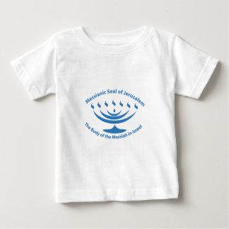 De Messiaanse Joodse Verbinding van Jeruzalem Baby T Shirts