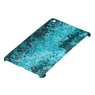 De metaal Blauwgroene Lovertjes kijken Disco Mirro Hoesje Voor iPad Mini