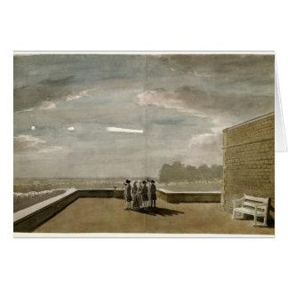 De meteoor van 18 Augustus, 1783, zoals gezien van Briefkaarten 0