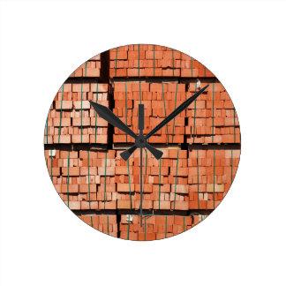De metselwerk van producten ronde klok
