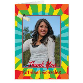 De Mexicaanse Afstuderen danken u kaarden met Kaart