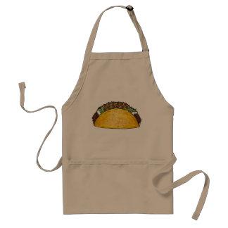 De Mexicaanse Schort van Foodie van de Taco's van