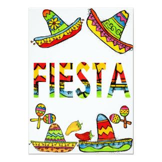 De Mexicaanse Uitnodigingen van Cinco DE Mayo van