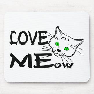 De Miauw van de liefde Muismat