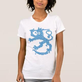 De micro-Vezel van de Vrouwen van de Leeuw van T Shirt