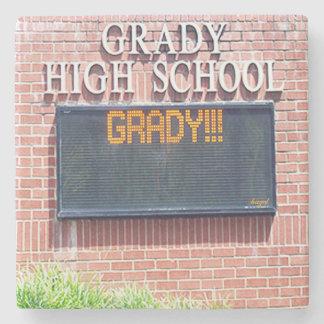De Middelbare school van Grady, Onderlegger voor Stenen Onderzetter