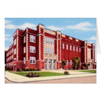 De Middelbare school van Lafayette Indiana Kaart