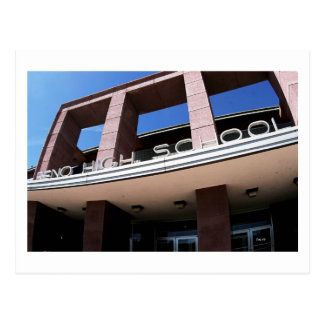 De Middelbare school van Reno Briefkaart