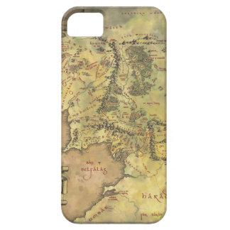 De midden Kaart van de Aarde Barely There iPhone 5 Hoesje