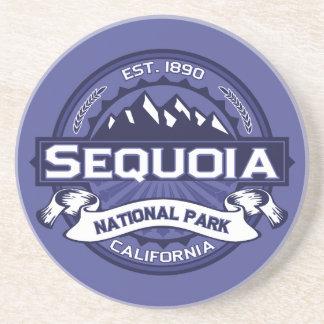 De Middernacht van de sequoia Zandsteen Onderzetter