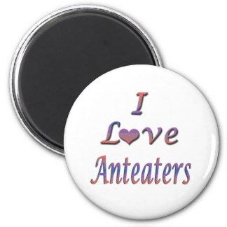 De Miereneters I van het Hart Liefde Koelkast Magneetjes
