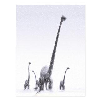 De Migratie van Brontosaurus Briefkaart