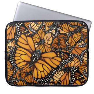 De Migratie van de Vlinder van de monarch Computer Sleeve