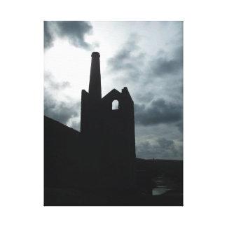 De Mijn van het Land van Poldark ruïneert Cornwall Canvas Print