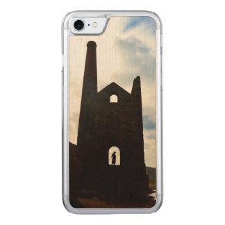 De Mijn van het Land van Poldark ruïneert Cornwall Carved iPhone 8/7 Hoesje
