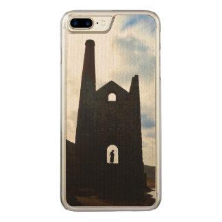 De Mijn van het Land van Poldark ruïneert Cornwall Carved iPhone 8 Plus / 7 Plus Hoesje