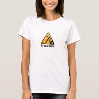 De Mijnwerker van Bitcoin T Shirt