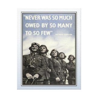 De Militaire Dierenartsen van het vintage WW2 Stretched Canvas Afdruk