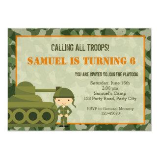 De Militaire) Uitnodiging van het leger (met de