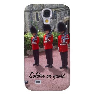 De militairen van Londen op de Melkweg van wachtSa