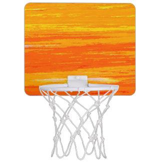 De mini Hoepel van het Basketbal - Gestreept Mini Basketbalring