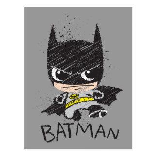 De mini Klassieke Schets van Batman Briefkaart
