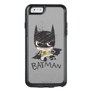 De mini Klassieke Schets van Batman OtterBox iPhone 6/6s Hoesje