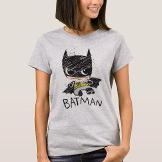 De mini Klassieke Schets van Batman T Shirt