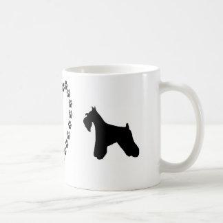 De mini Mok van de Koffie van de Liefde Schnauzer