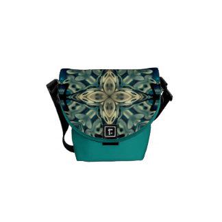 De mini Zak van de Riksja met Marokkaans ontwerp Messenger Bag
