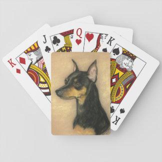 De miniatuur Speelkaarten van de Kunst van de Hond