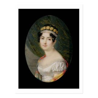 De Miniatuur van het portret van de Keizerin Briefkaart